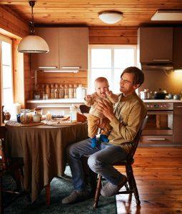 Rinas su sūnumi Luku